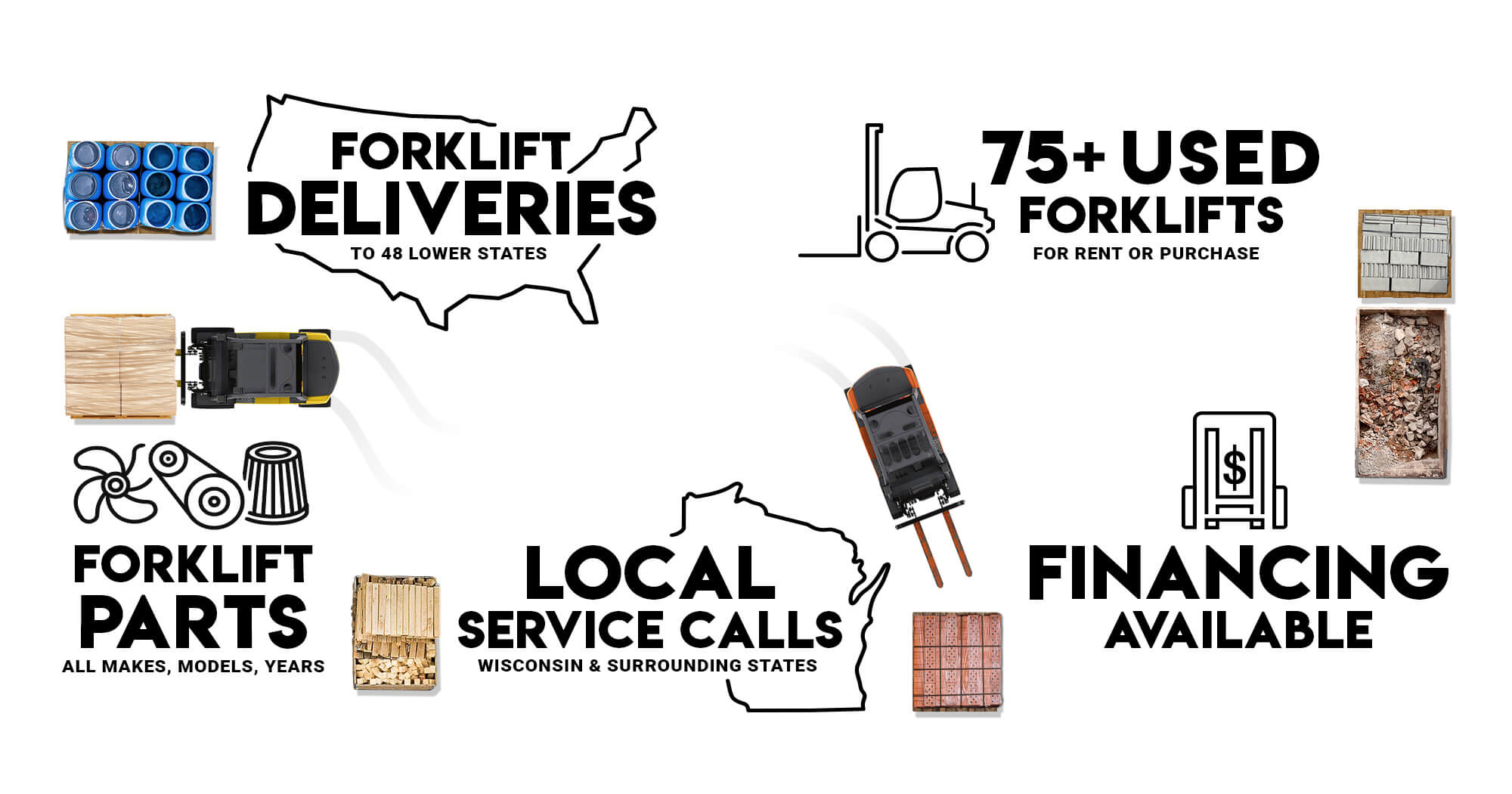 Forklift Trader Buys, Sells & Delivers Forklifts Nationwide